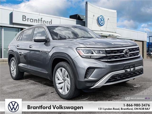 2021 Volkswagen Atlas Cross Sport 3.6 FSI Highline (Stk: AS21141) in Brantford - Image 1 of 26