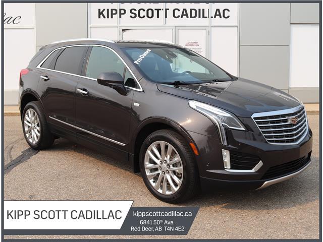 2017 Cadillac XT5 Platinum 1GYKNFRS5HZ306498 P10820 in Red Deer