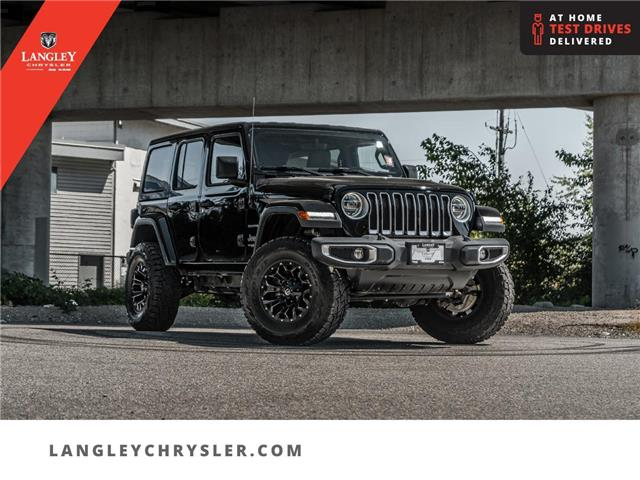 2018 Jeep Wrangler Unlimited Sahara (Stk: LC0915) in Surrey - Image 1 of 23
