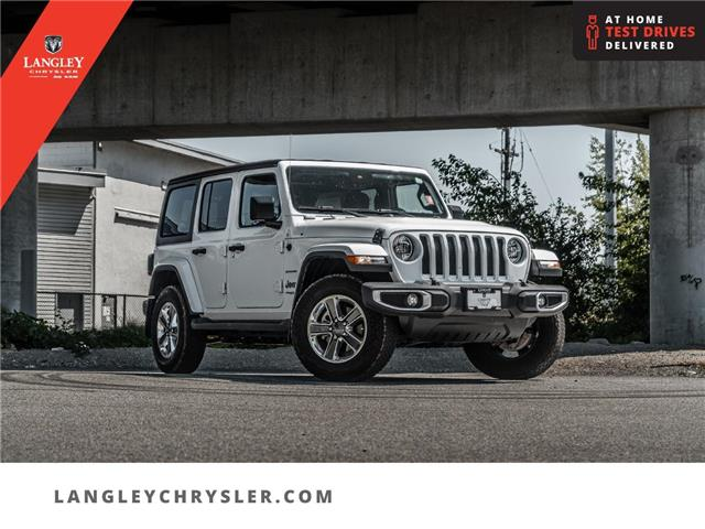 2021 Jeep Wrangler Unlimited Sahara (Stk: LC0919) in Surrey - Image 1 of 23
