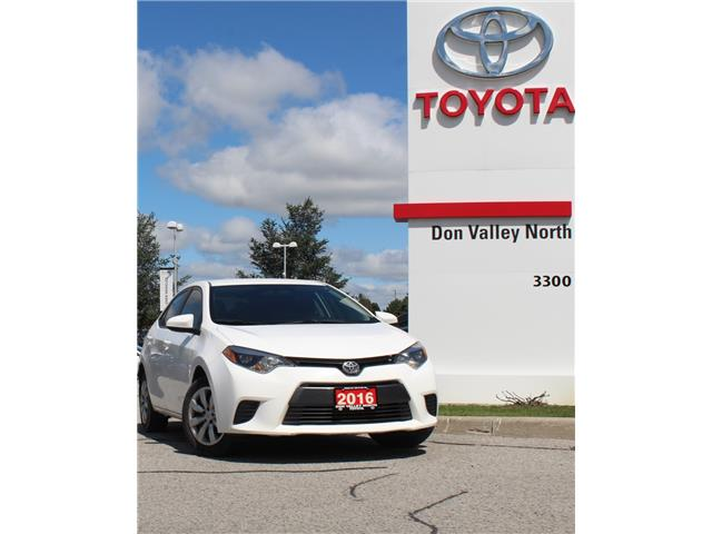 2016 Toyota Corolla LE (Stk: 305143S) in Markham - Image 1 of 1