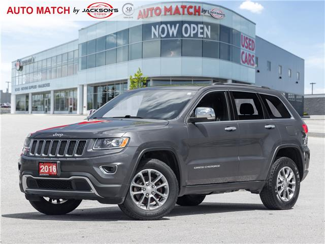 2016 Jeep Grand Cherokee Limited (Stk: U8236) in Barrie - Image 1 of 23