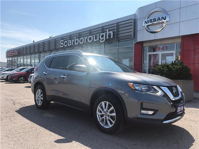 2018 Nissan Rogue SV (Stk: Y21131A) in Scarborough - Image 1 of 14