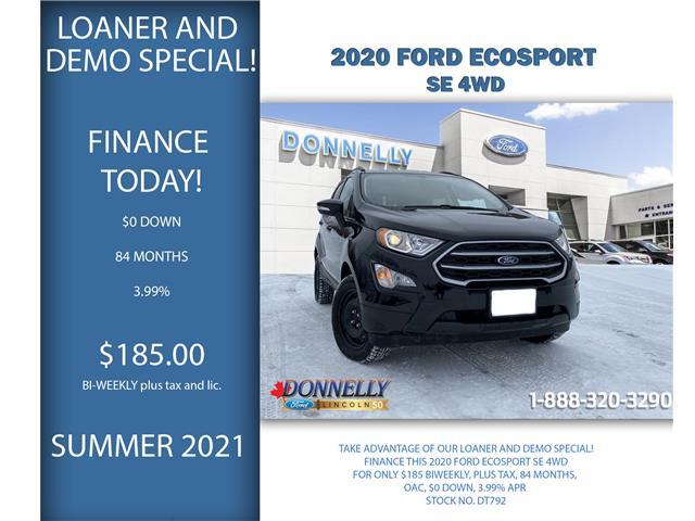 2020 Ford EcoSport SE (Stk: DT792) in Ottawa - Image 1 of 28