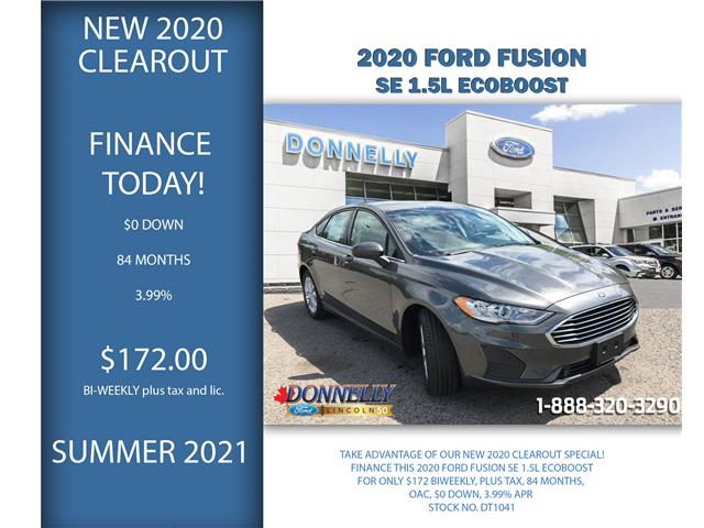 2020 Ford Fusion SE (Stk: DT1041) in Ottawa - Image 1 of 23