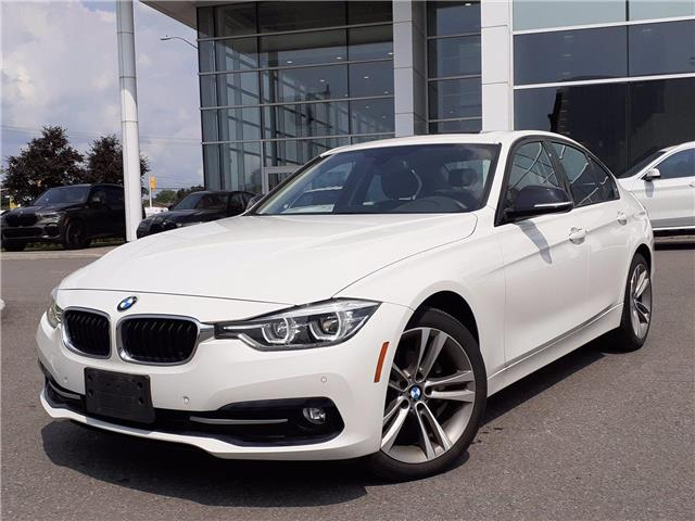2017 BMW 3 Series 320i xDrive   LEATHER   KEYLESS ENTRY   LOW KMS   (Stk: P10003) in Gloucester - Image 1 of 27