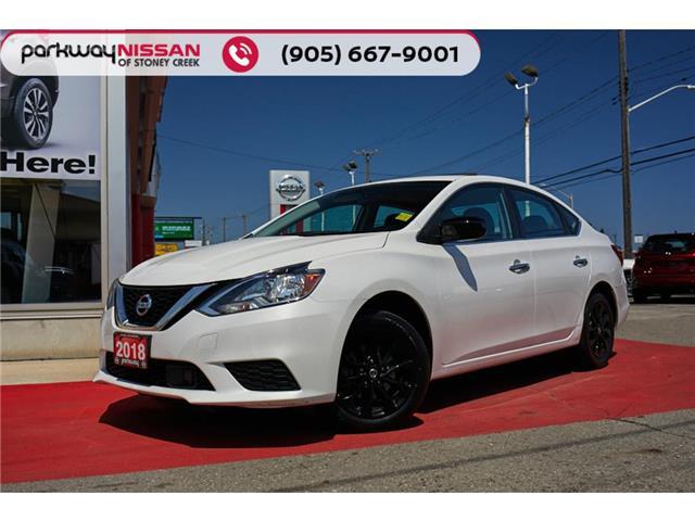 2018 Nissan Sentra  3N1AB7AP1JY304628 N1879 in Hamilton