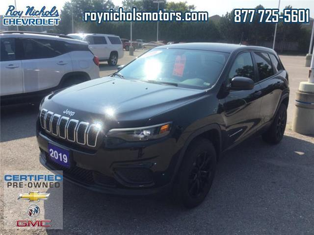 2019 Jeep Cherokee Sport (Stk: X322A) in Courtice - Image 1 of 15