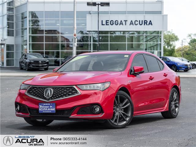 2018 Acura TLX Elite A-Spec (Stk: 4520) in Burlington - Image 1 of 25