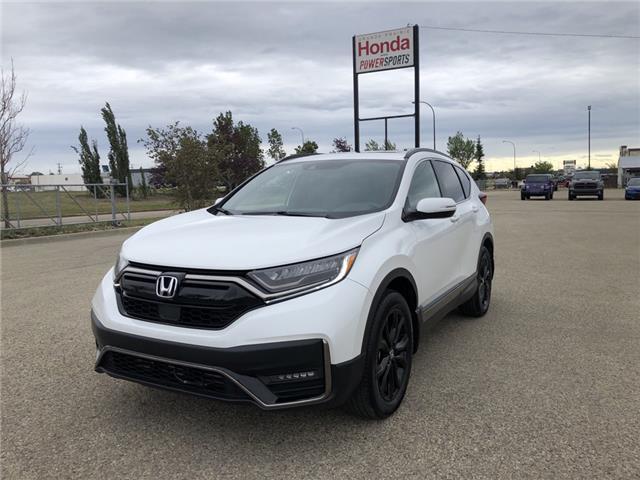 2021 Honda CR-V Black Edition (Stk: H14-5082) in Grande Prairie - Image 1 of 27