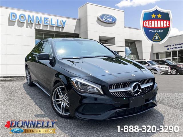 2018 Mercedes-Benz CLA 250 Base WDDSJ4GB6JN588372 CLDV791A in Ottawa