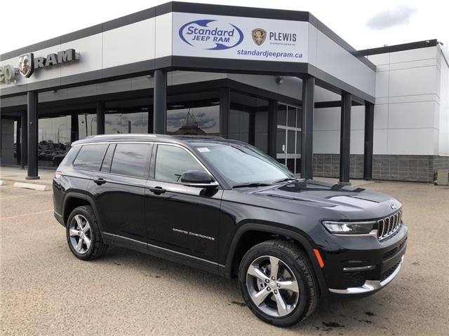 2021 Jeep Grand Cherokee L Limited (Stk: 5M171) in Medicine Hat - Image 1 of 19