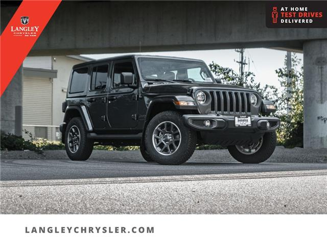 2021 Jeep Wrangler Unlimited Sahara (Stk: M764339) in Surrey - Image 1 of 24