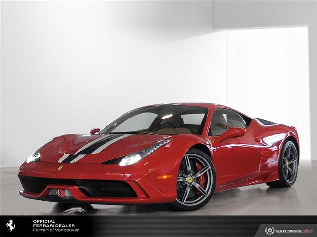 2014 Ferrari 458 Speciale Base (Stk: C0156) in Vancouver - Image 1 of 10
