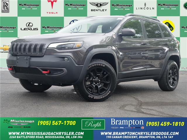 2019 Jeep Cherokee Trailhawk (Stk: 1660) in Mississauga - Image 1 of 27