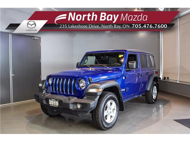 2019 Jeep Wrangler Unlimited Sport (Stk: 21160A) in North Bay - Image 1 of 25