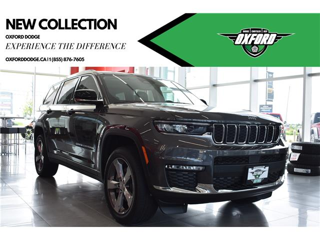 2021 Jeep Grand Cherokee L Limited (Stk: 21675) in London - Image 1 of 30