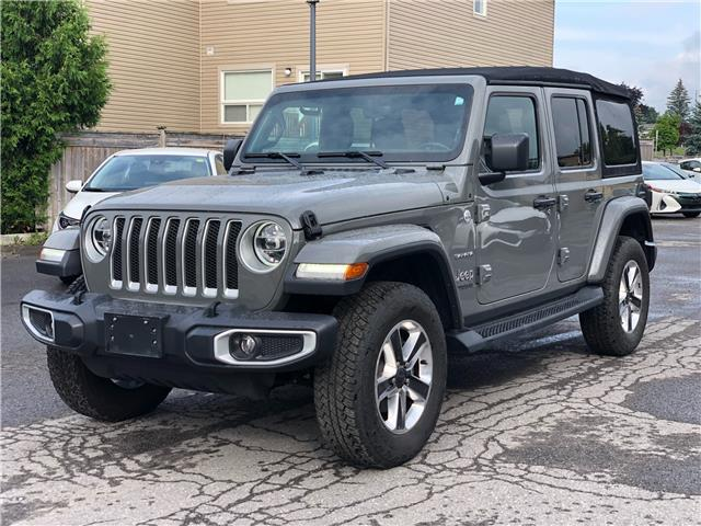 2020 Jeep Wrangler Unlimited Sahara (Stk: ) in Rockland - Image 1 of 20