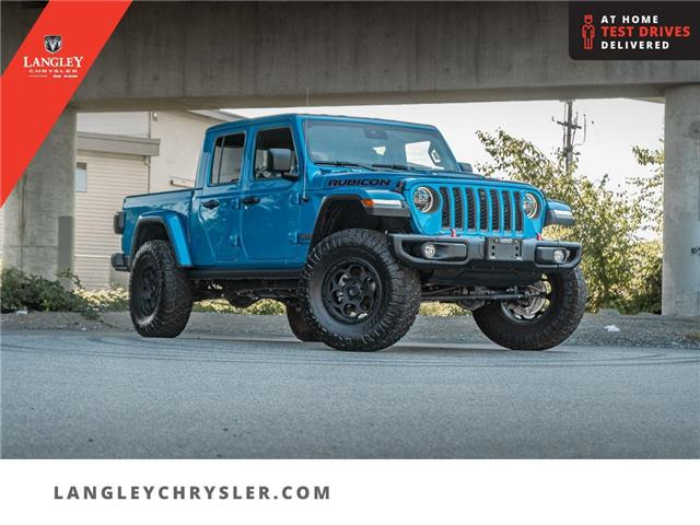 2021 Jeep Gladiator Rubicon (Stk: M512603A) in Surrey - Image 1 of 24