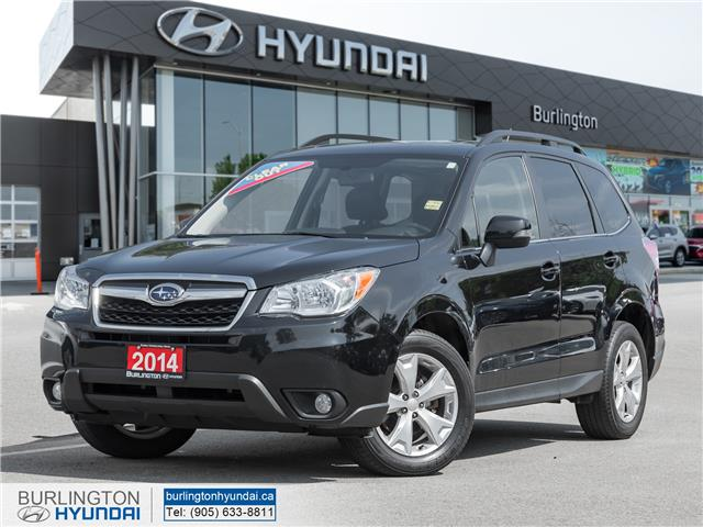 2014 Subaru Forester 2.5i Touring Package JF2SJAMC9EH538304 N3165A in Burlington