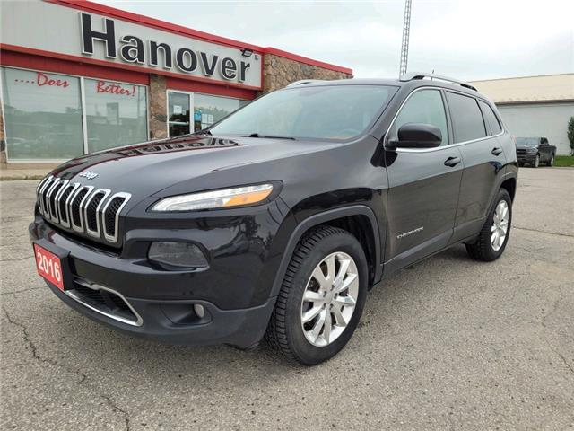 2016 Jeep Cherokee Limited (Stk: U3141A) in Hanover - Image 1 of 15