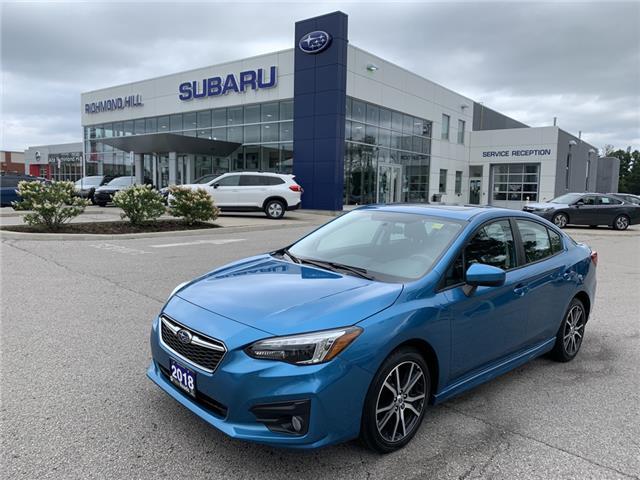 2018 Subaru Impreza Sport (Stk: LP0640) in RICHMOND HILL - Image 1 of 27