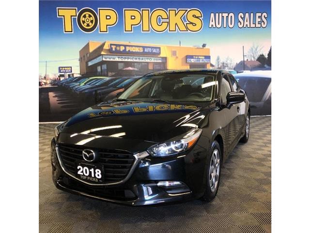 2018 Mazda Mazda3 GX (Stk: 166072) in NORTH BAY - Image 1 of 26