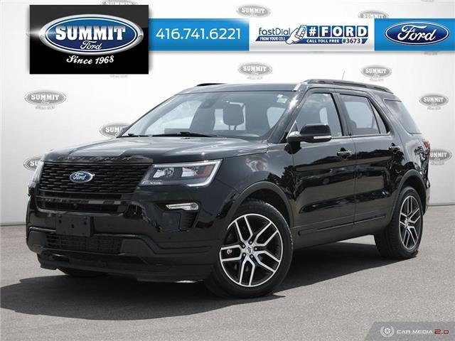 2018 Ford Explorer Sport (Stk: PL22287) in Toronto - Image 1 of 27