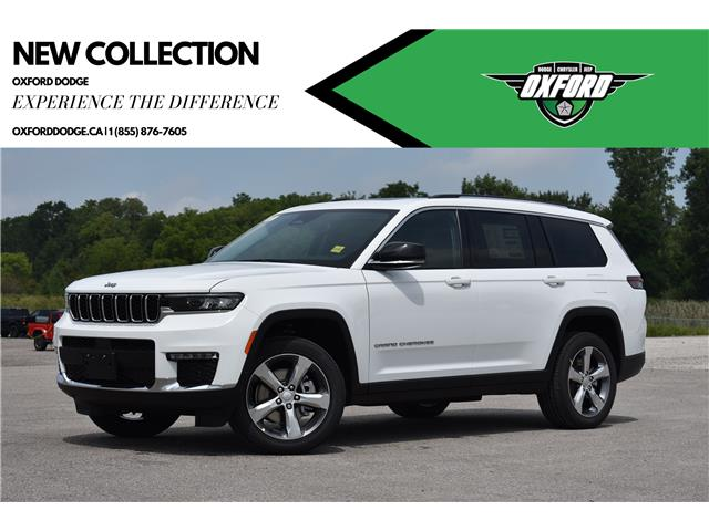 2021 Jeep Grand Cherokee L Limited (Stk: 21688) in London - Image 1 of 25