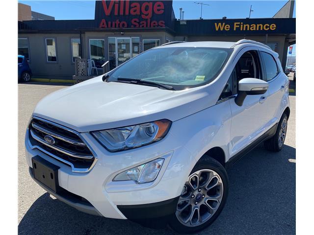 2018 Ford EcoSport Titanium MAJ6P1WL3JC186734 P38467 in Saskatoon