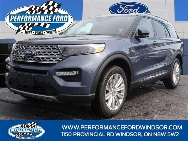 2021 Ford Explorer Limited (Stk: EX17812) in Windsor - Image 1 of 16