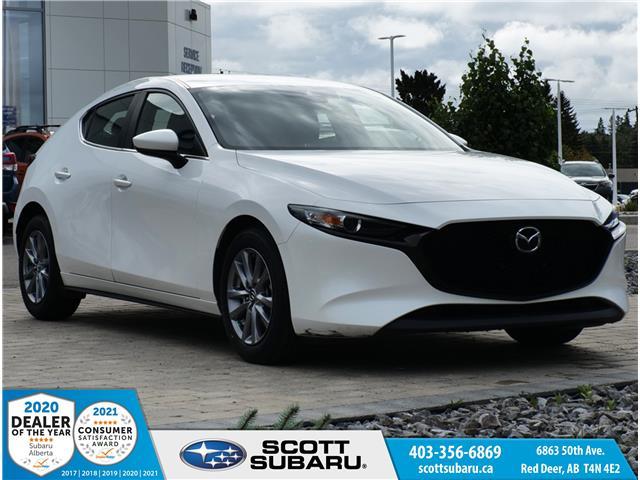 2019 Mazda Mazda3 Sport GS JM1BPALM9K1142577 42577U in Red Deer