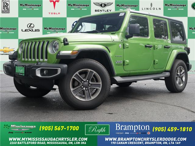 2019 Jeep Wrangler Unlimited Sahara (Stk: 1666) in Mississauga - Image 1 of 24