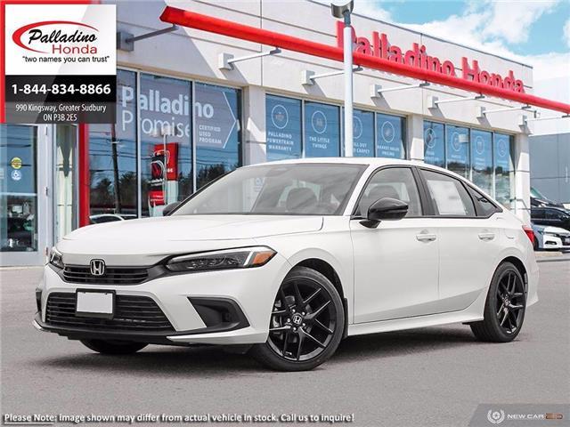 2022 Honda Civic Sport (Stk: 23483) in Greater Sudbury - Image 1 of 23