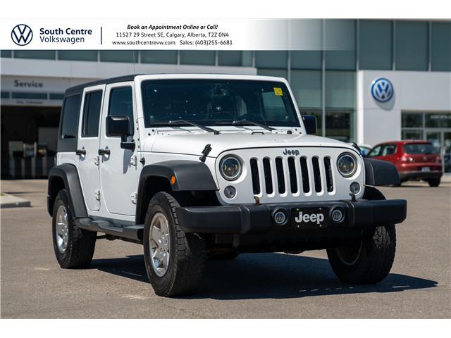 2014 Jeep Wrangler Unlimited Sport 1C4BJWDG4EL289115 10172A in Calgary