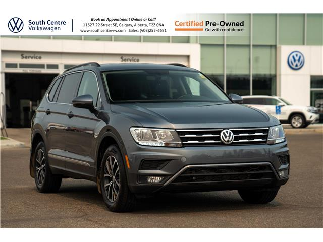 2019 Volkswagen Tiguan Comfortline (Stk: 10345A) in Calgary - Image 1 of 40