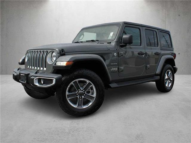 2020 Jeep Wrangler Unlimited Sahara (Stk: M21-0666P) in Chilliwack - Image 1 of 12