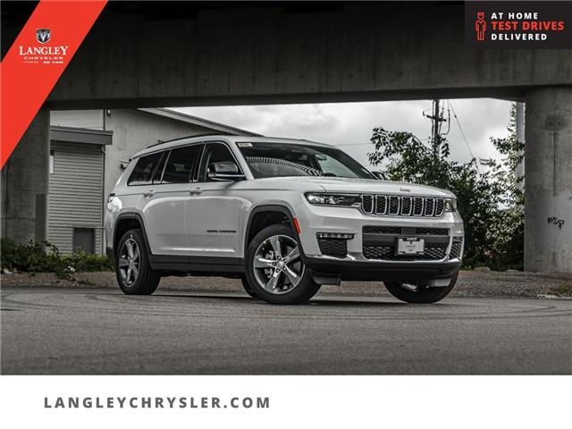 2021 Jeep Grand Cherokee L Limited (Stk: M157635) in Surrey - Image 1 of 27
