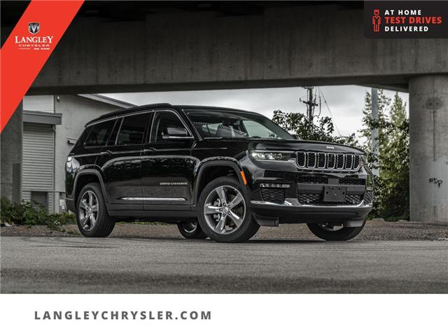 2021 Jeep Grand Cherokee L Limited (Stk: M102768) in Surrey - Image 1 of 25
