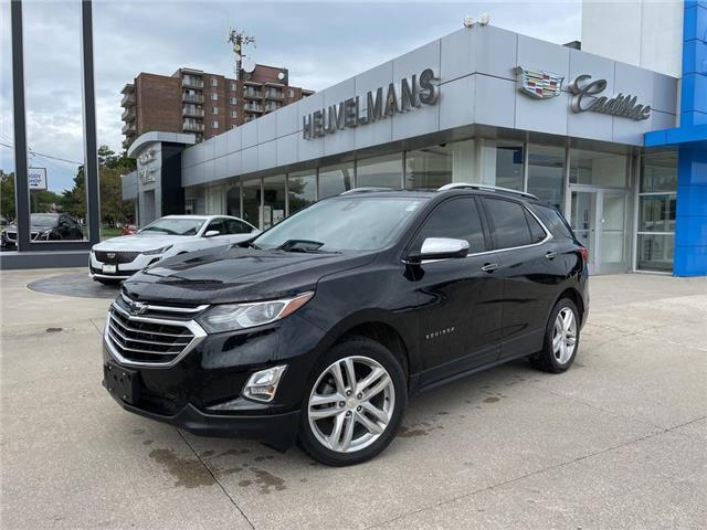 2019 Chevrolet Equinox Premier (Stk: 21115A) in Chatham - Image 1 of 20