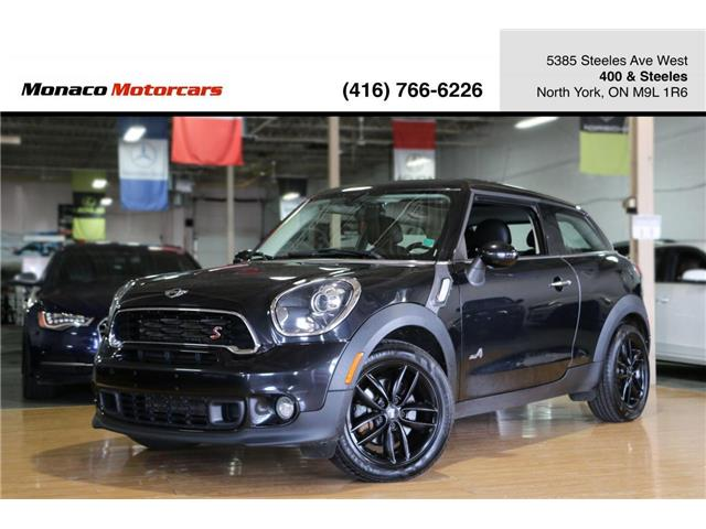 2016 MINI Paceman Cooper S (Stk: 4372-06) in North York - Image 1 of 28