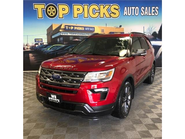 2019 Ford Explorer XLT (Stk: A43450) in NORTH BAY - Image 1 of 30