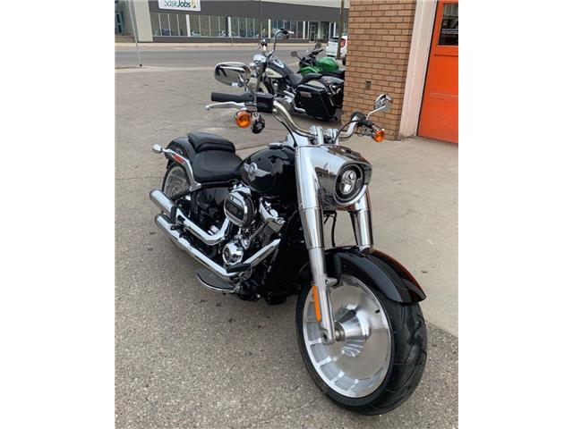 2021 Harley-Davidson FLFBS - Fat Boy™ 114  (Stk: FLFBS-21-1112) in Saskatoon - Image 1 of 10