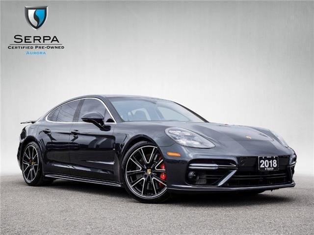 2018 Porsche Panamera Turbo (Stk: P1552) in Aurora - Image 1 of 30