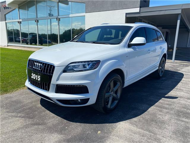 2015 Audi Q7  (Stk: 21121A) in Meaford - Image 1 of 17