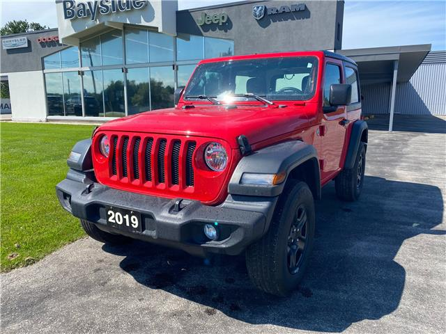 2019 Jeep Wrangler Sport (Stk: 82958A) in Meaford - Image 1 of 16