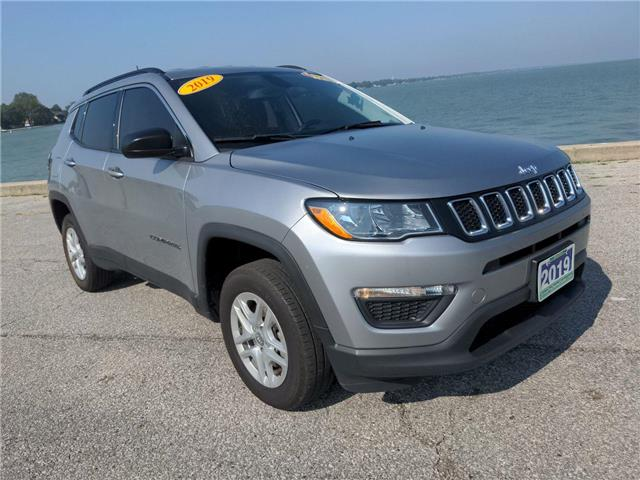 2019 Jeep Compass Sport (Stk: D0407) in Belle River - Image 1 of 15
