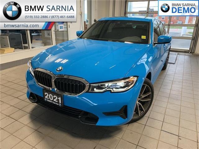 2021 BMW 330i xDrive (Stk: B2110) in Sarnia - Image 1 of 10