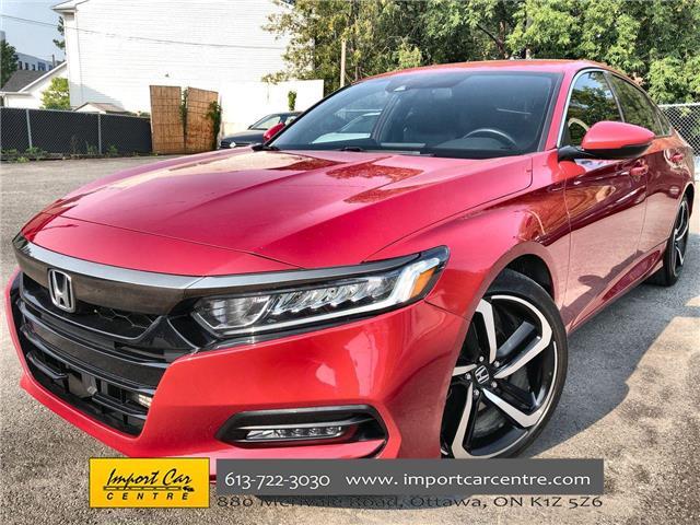 2018 Honda Accord Sport (Stk: 800875) in Ottawa - Image 1 of 25