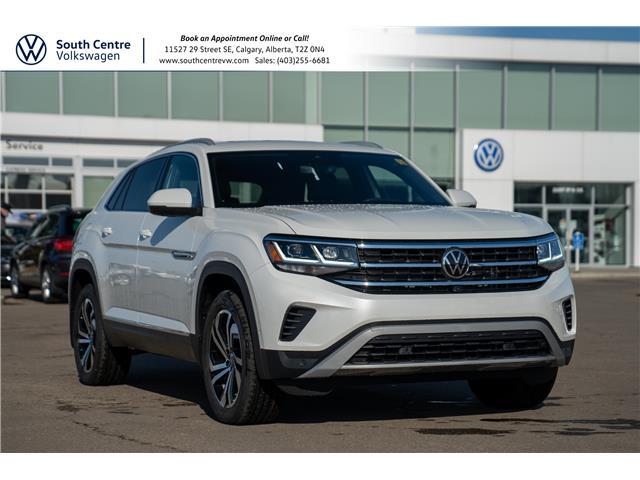 2021 Volkswagen Atlas Cross Sport 3.6 FSI Execline (Stk: 10353) in Calgary - Image 1 of 47